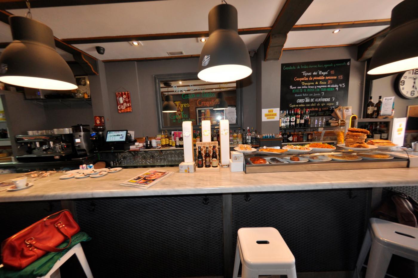 Restaurante El Ágora: Restaurante El Ágora. Vista de la barra