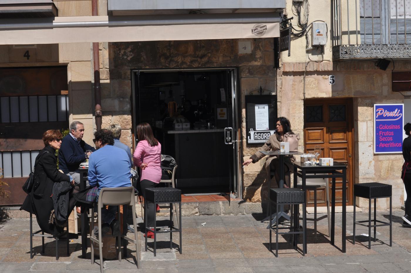 Restaurante El Ágora: Vista exterior Restaurante El Ágora