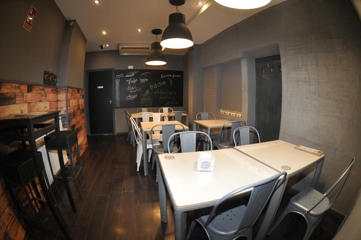 Restaurante El Ágora: Restaurante El Ágora. Interior del restaurante