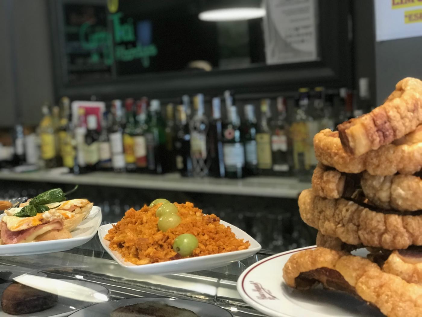 Restaurante El Ágora: Restaurante El Ágora. Migas y torrezno de Soria