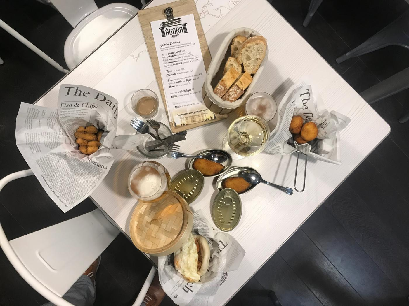Restaurante El Ágora: Restaurante El Ágora. Tapas y raciones variadas