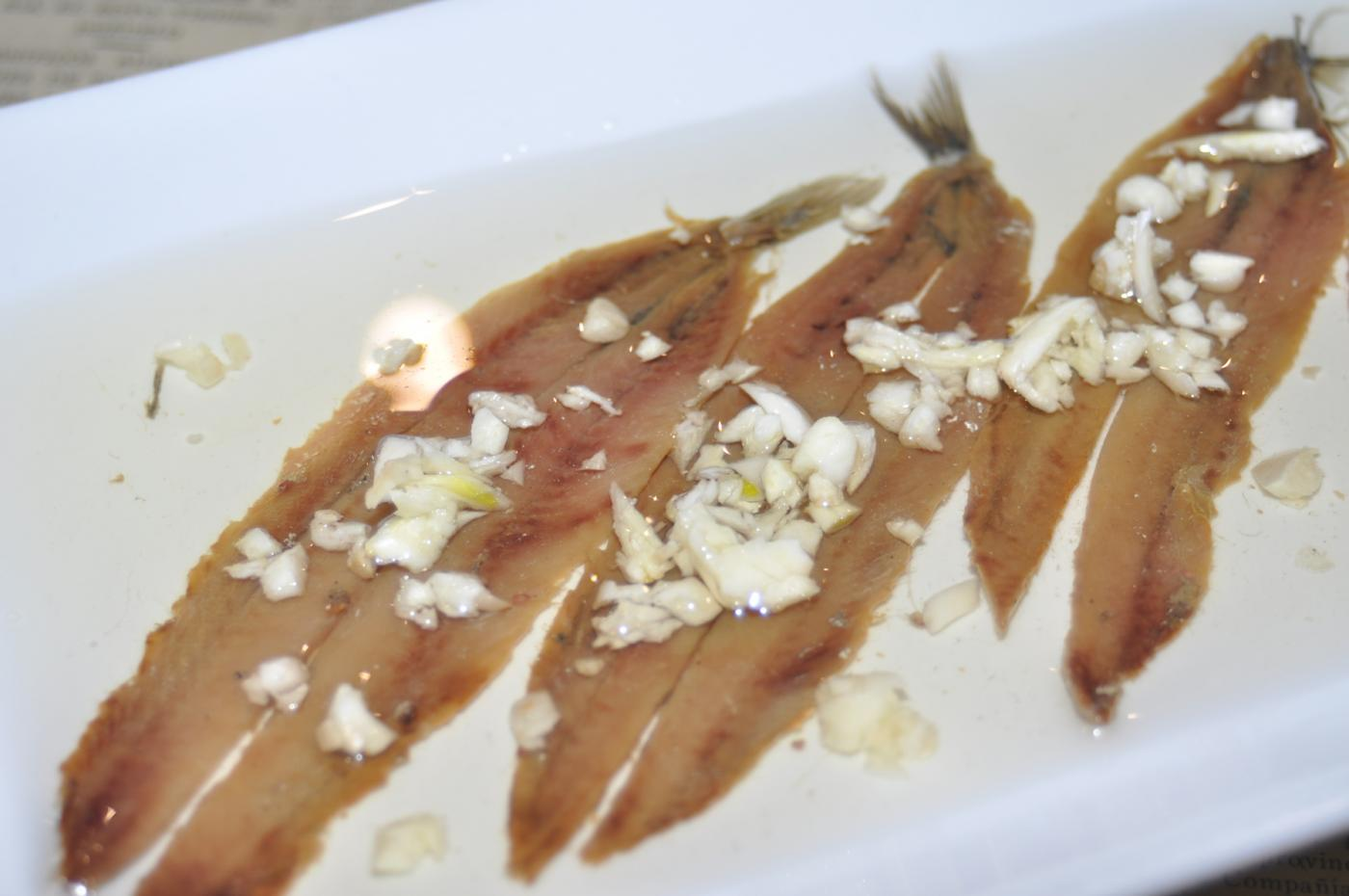 Restaurante Casa Augusto Arranz: Salmueras