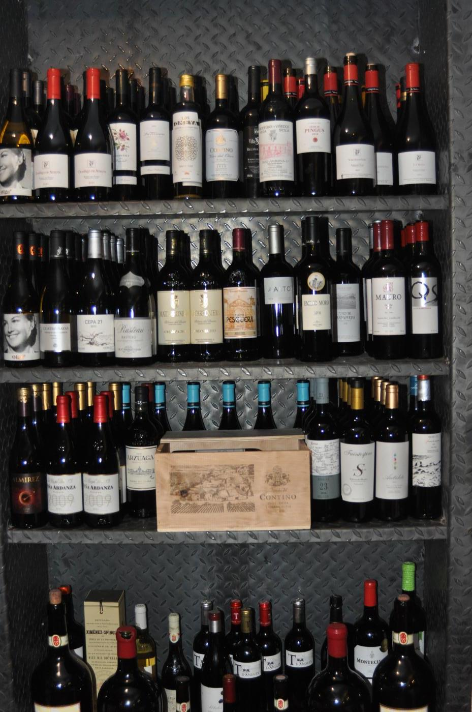 Restaurante Casa Augusto Arranz: Escelente carta de vinos